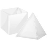 Pyramid Resin Epoxy Mold Extra Large 6x6inch