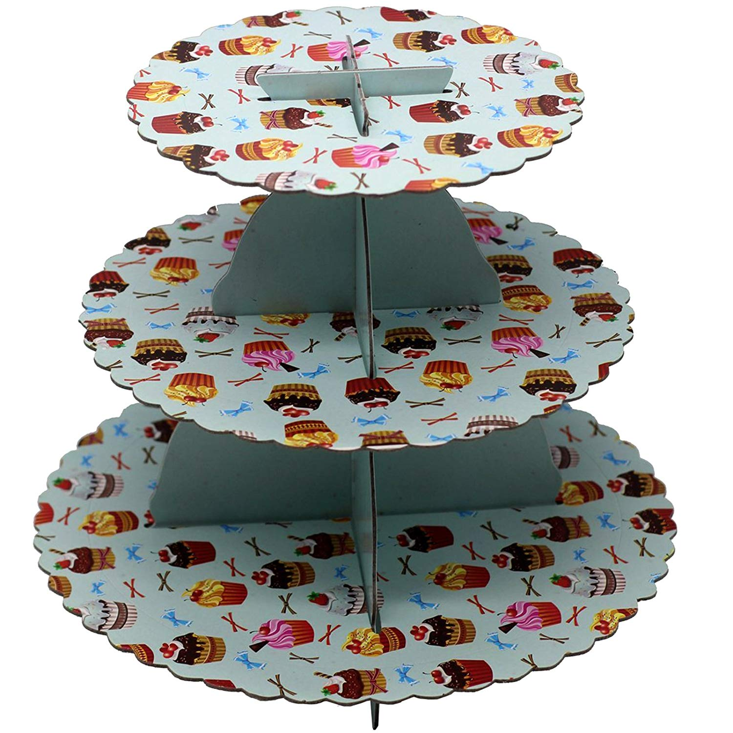 3 Tiers Cupcake Stand