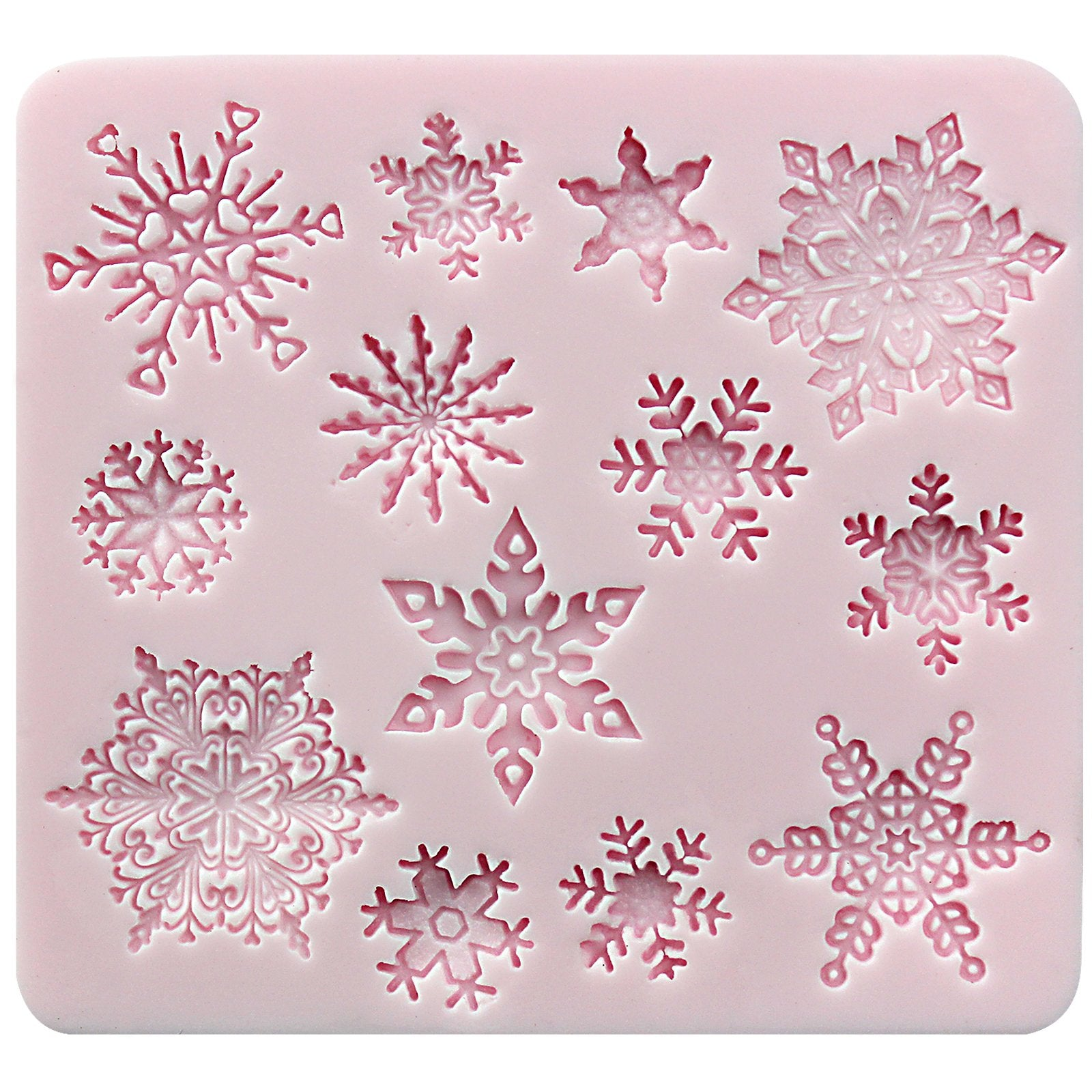 Mini Snowflake Lace Silicone Mold