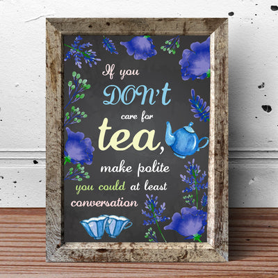Wonderland Mad Tea Party Poster A3 16x12inch