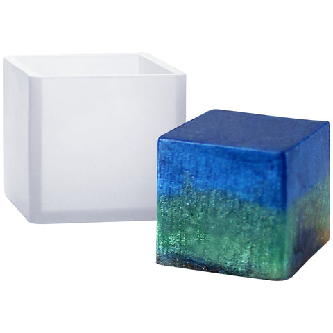 Cube Paperweight Resin Mold 0.8inch