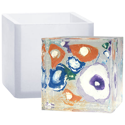 Cube Paperweight Resin Mold 2.5inch