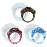 Ring Silicone Mold for UV Resin Epoxy Liquid Clay Jewelry Making