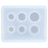 Flat Round Gems Resin Silicone Mold Mini
