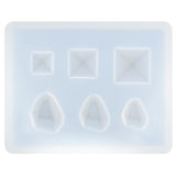 Cabochon Resin Epoxy Silicone Mold Mini