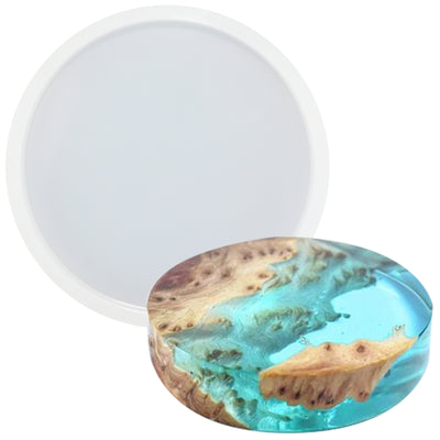 Circle Coaster Pendant Resin Epoxy Silicone Mold 1.3inch