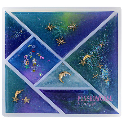 Jigsaw Puzzle Resin Silicone Mold