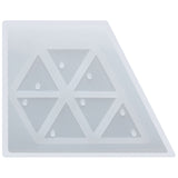 Triangle with Hole Resin Silicone Mold Mini