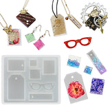 Tag and Keychain Charms Resin Silicone Mold Mini