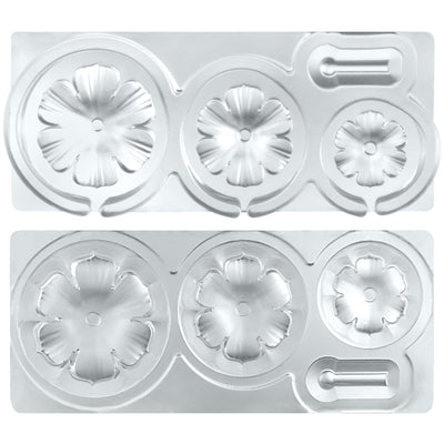 Assorted Cute Wild Flower Epoxy Silicone Mold