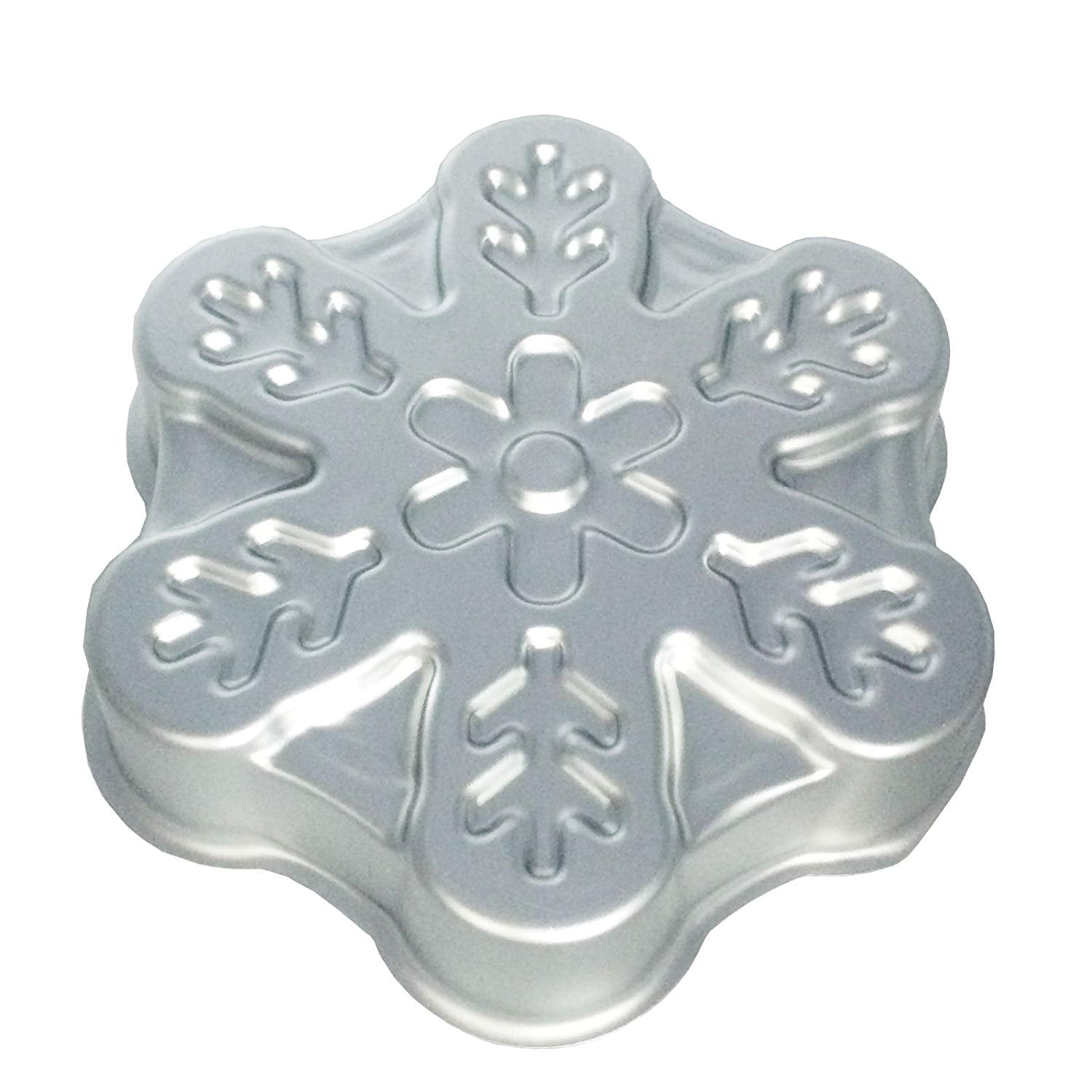 Large Snowflake Metal Baking Pan 8.9inch