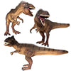 Giganotosaurus Figure with Movable Jaws Brown Height 6-inch