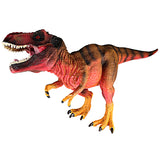 Tyrannosaurus Rex Figure with Movable Jaws Red Height 5-inch