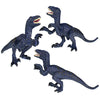 Velociraptor Figure Blue Height 3.5-inch