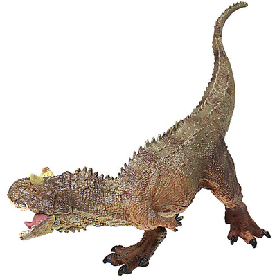 Carnotaurus Figure with Movable Jaw Brown Height 5-inch