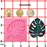 Aloha Beach Fondant Silicone Mold Tropical Palm Leaf