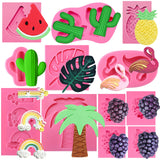 Aloha Beach Fondant Silicone Molds Collection 12-Count