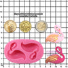 Aloha Beach Fondant Silicone Mold Flamingo 2 Cavity