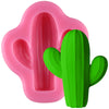 Fondant Silicone Mold Cactus 1.5inch for Summer Parties