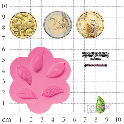 Mini Leaf Silicone Mold
