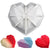 Diamond Heart Cake Baking Silicone Mold Tray 7.3x7x2inch