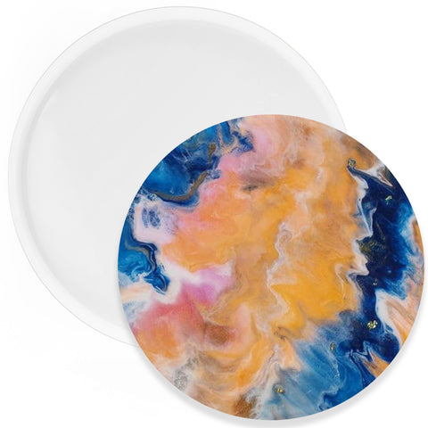 Round Coaster Resin Silicone Mold 5.5 inch