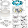 Bracelet and Ring Resin Jewelry Molds Larger Sizes Set 19 Kits