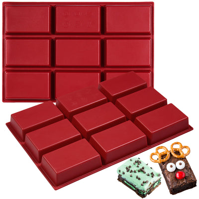Rectangle Bars Silicone Mold 9-cavity