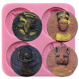 Egypt Coins Inspired Fondant Silicone Mold