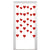 Red Hearts String Banner 6-Count