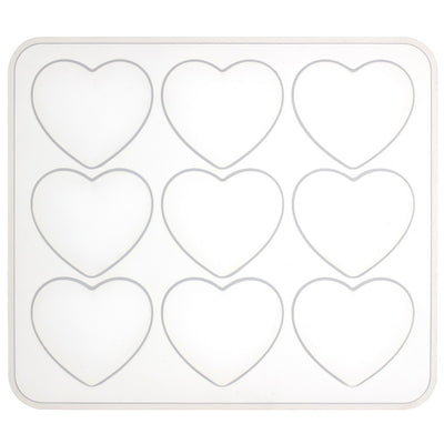 Puffy Heart Silicone Resin Mold 2x1.7inch