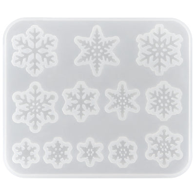 Snowflakes Resin Silicone Mold