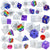 Epoxy Resin Dice Mold Set Number Letter Operation 20-count 0.7-1.6inch