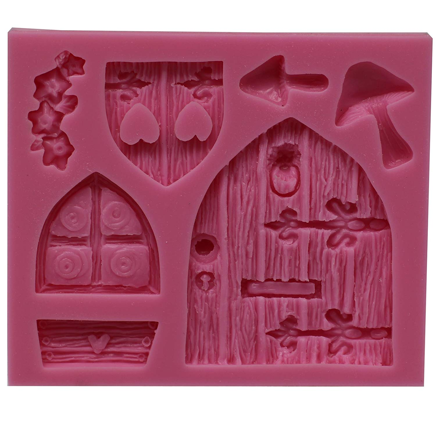 Fairy Door & Window Silicone Fondant Mold