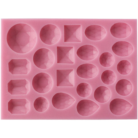 Assorted Diamond Fondant Silicone Mold Small
