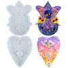Planchette Resin Silicone Molds 2-in-set 5.3inch