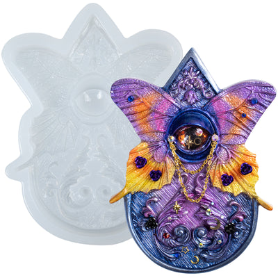 Planchette Silicone Resin Mold, Butterfly