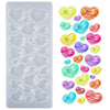 Hearts Cabochon Resin Silicone Mold 26-cavity