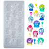 Crystal Balls Cabochon Resin Silicone Mold 16-cavity