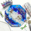 Dish Epoxy Resin Silicone Mold Large Octagon 8.26inch