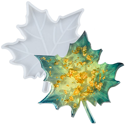 Maple Leaf Coaster Epoxy Resin Silicone Mold