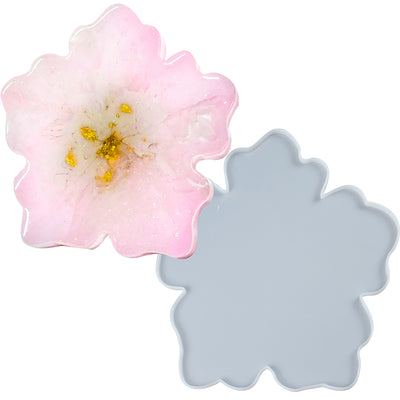 Sakura Flower Tray Resin Silicone Mold Large 15.3inch