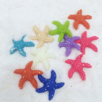 Multi-colored Starfish 10-count
