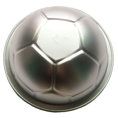 Large 3D Soccer Ball Metal Pastry Baking Pan Mold 9.3inch