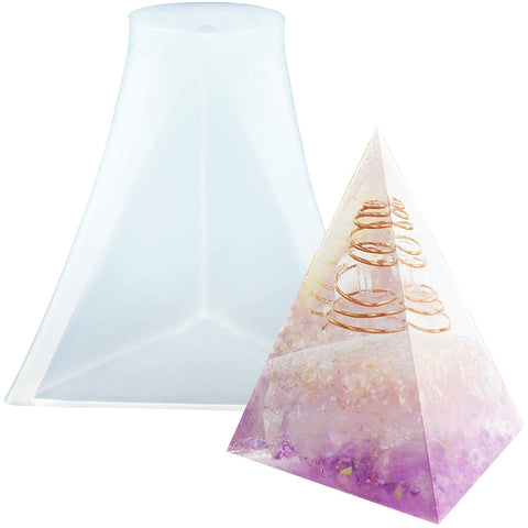 Triangular Pyramid Resin Mold 2inch High