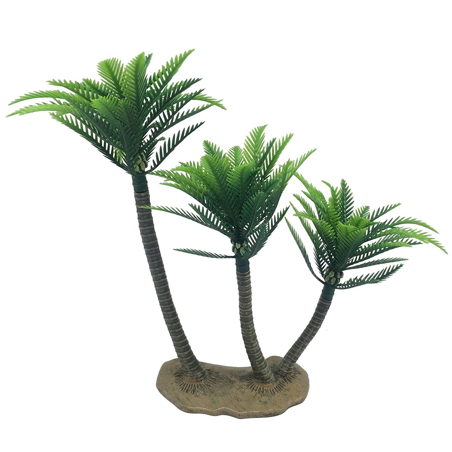 Rainforest Triplet Coconut Trees 10.2inch