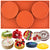 Round Disc Baking Silicone Mold Resin Coaster 3 Cavity 4-inch Disk