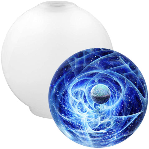 Sphere Pendant Resin Mold 0.9inch Easy Unmold Version