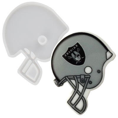 Helmet Tag Silicone Resin Mold