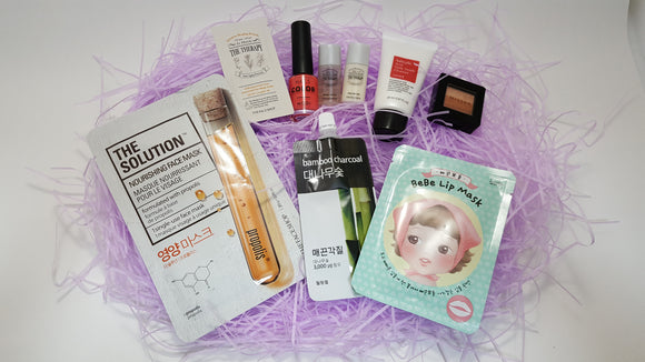 Korean Beauty Box. Introduction to Korean Skin Care and Makeup products by Kim's Korean Beauty